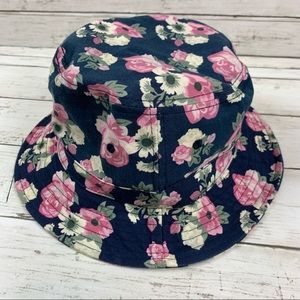 Urban outfitters Floral Bucket Hat Y2k 90's Pink
